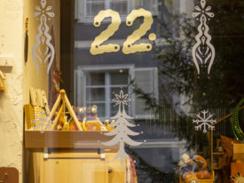 24 shop windows, Feldkirch